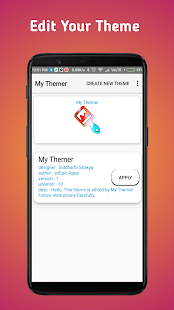 My Themer for MIUI : Mi Theme Editor for 9 5 for PC-Windows 7,8,10