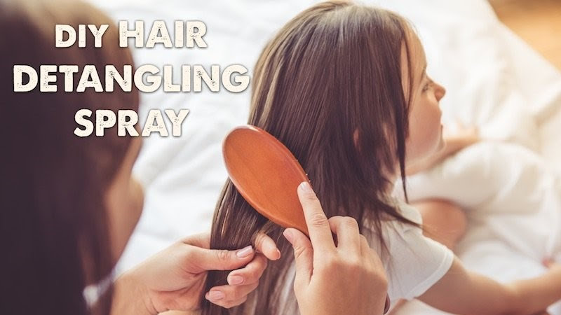Natural Hair Detangling Spray (You Can Make at Home)
