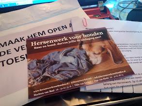 Photo: Hersenwerk voor honden heeft mij door een verveelmoment geholpen