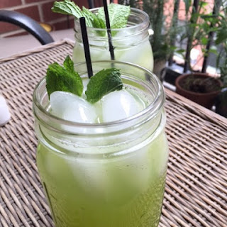 Mint Lemonade with Rosewater.