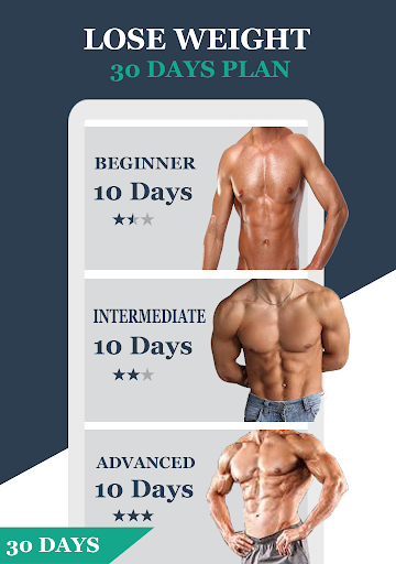30 Day Challenge Man Home Fitness Workout 1.0 screenshots 2