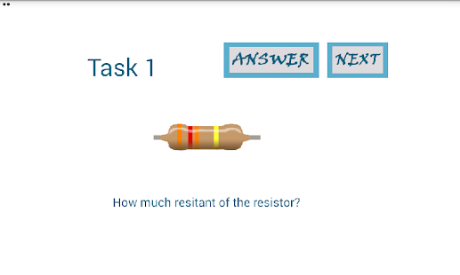 Resistor Quiz- screenshot thumbnail