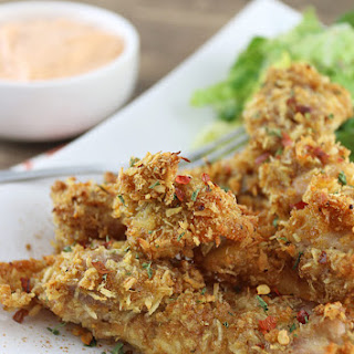 Keto Coconut Curry Chicken Tenders