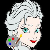 coloriage de la reine