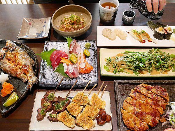 陶膳日本料理-台北松山區南港軟體園區站日式料理  商午的雙拼定食CP值超高  還是寵物友善餐廳