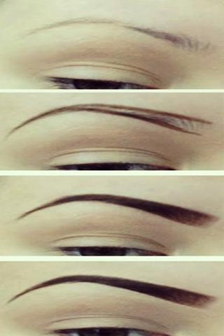 How To Draw Eyebrows On Paper