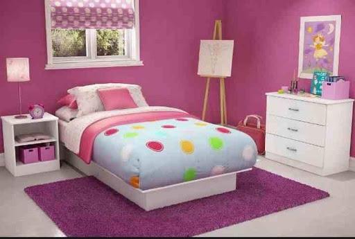 女の子の部屋のデザインのアイデア
