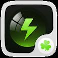 Black Theme GO Power Battery icon