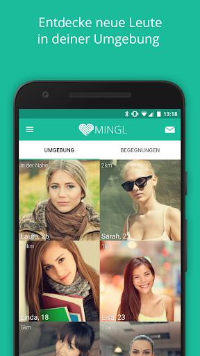 玩免費遊戲APP|下載MINGL - Flirt Chat, neue Leute app不用錢|硬是要APP