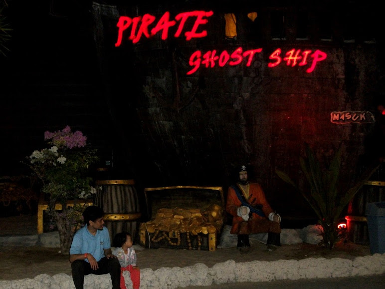 Pirate Ghost Ship, dare to climb aboard?