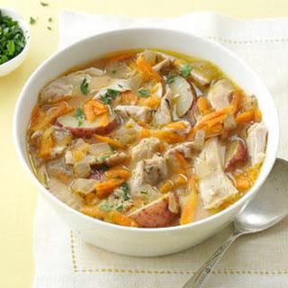 Spring-Thyme Chicken Stew