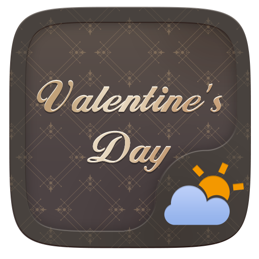 Valentine's Day GO Weather Widget Theme