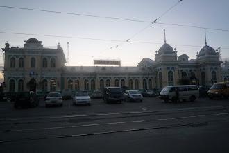 Photo: Arrivée à Irkutsk à 6h30