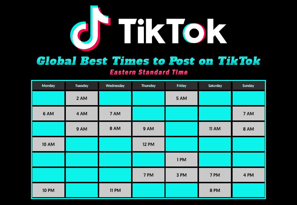 Best Times To Post On TikTok