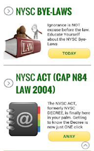 NYSC MOBILE APP-Official- screenshot thumbnail