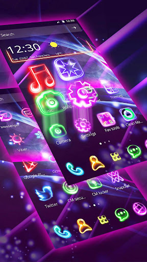 Neon Light Launcher for PC