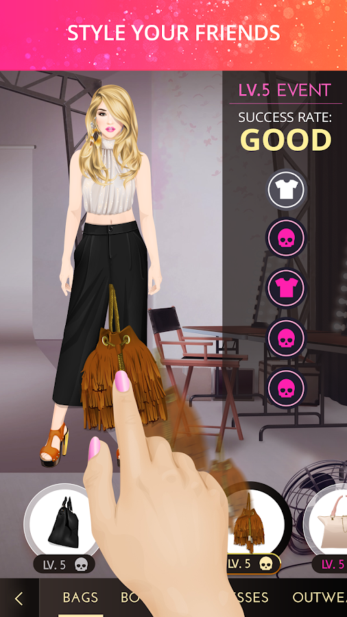 Play new celebrity makeup games