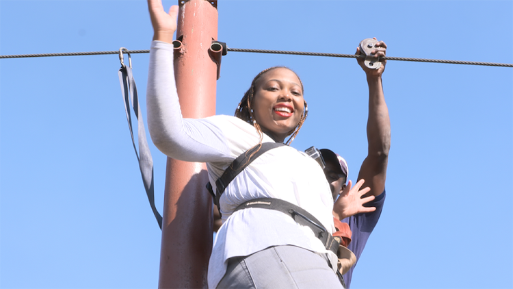 Lerato Nkomo and her sister Phyllis went on an adrenalin-fuelled adventure.