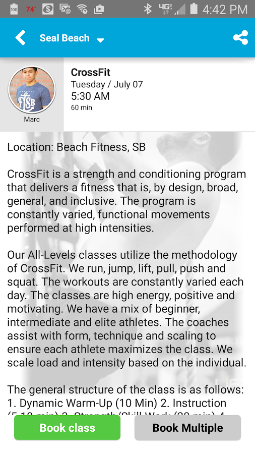 Beach Fitness- screenshot