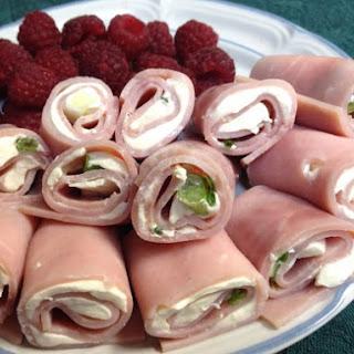 Ham and Cream Cheese Roll-ups.