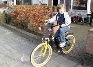 Photo: En... krijgt een nieuwe fiets!