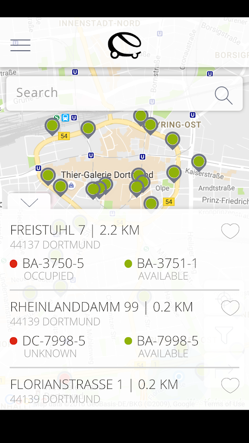 eCharge- screenshot