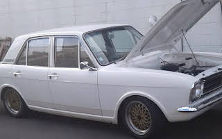 Ford Mk2 Cortina Rent Auckland