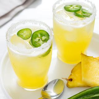 Spiced Pineapple Palomas.