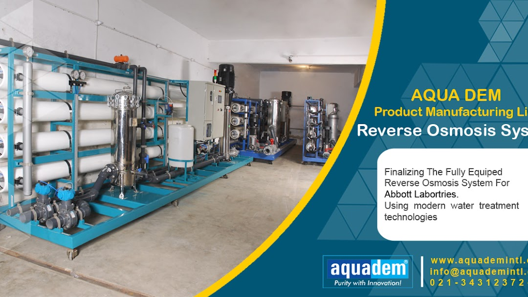 Aquadem Industrial Water Treatment RO Plant Water Softener Fire