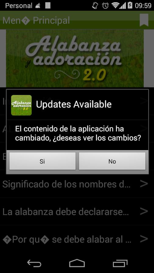 Alabanza y Adoracion 2.0 - screenshot