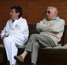 Photo: Ken Walker & George Startup.(Not sailing, flying or droning today).