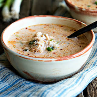 Spicy Crab Bisque for Two.