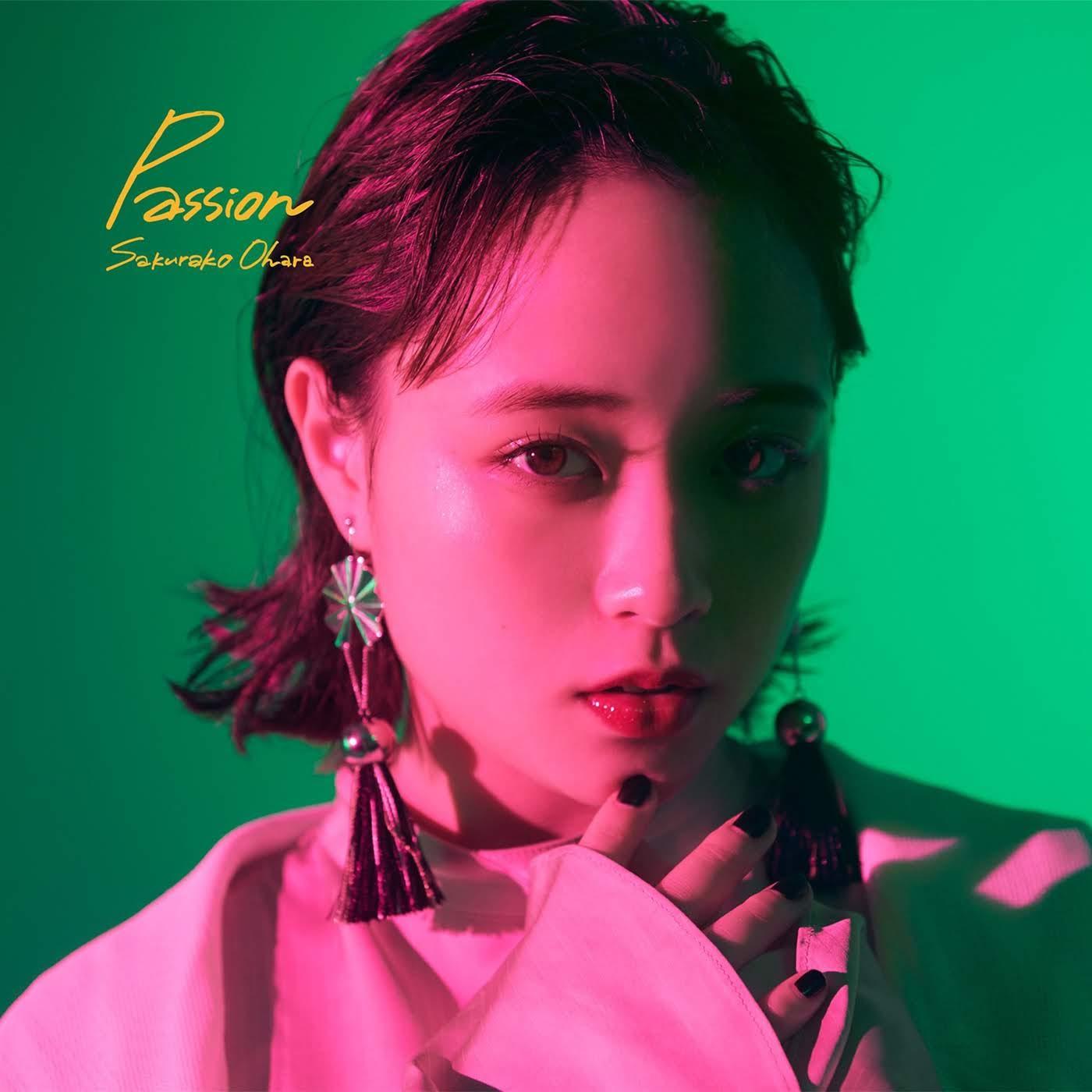"Capa do álbum ""Passion"" – Regular Edition."