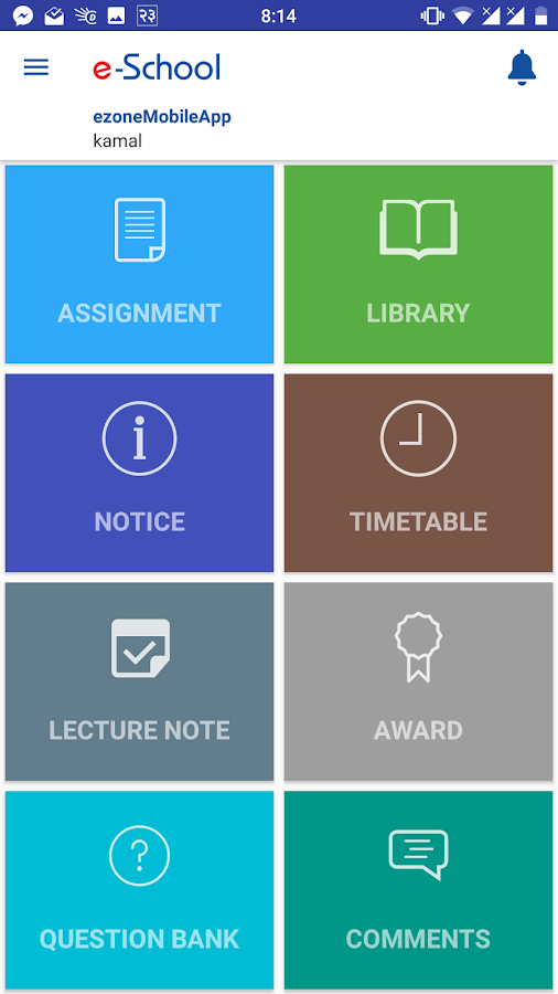 eSchool App by eZone- screenshot