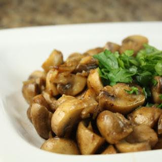 Brandied Mushrooms