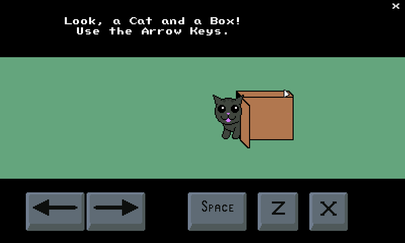 Cat in Box- screenshot