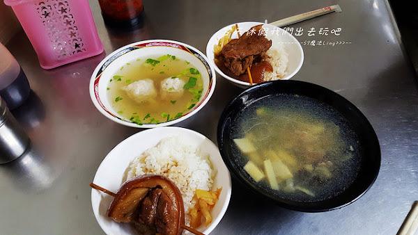 彰化成功路-阿泉爌肉飯。在地人的早午餐