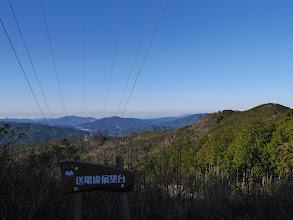 送電線展望台(西側)