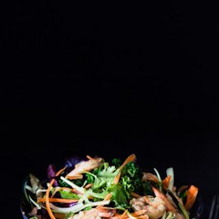 Shrimp Kale Zucchini Salad