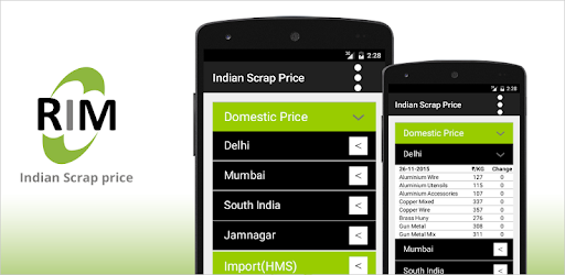 Free Indian Scrap Prices - Apps on Google Play