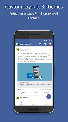 Phoenix - Facebook & Messenger 2.8.0321 screenshots 2