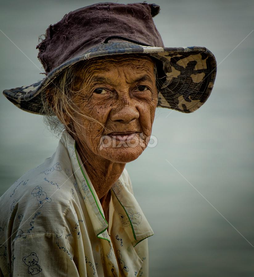 by Charliemagne Unggay - People Portraits of Women ( senior citizen, people. portrait,  )