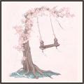 風に揺れる樹