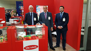 Delegación de Vicasol en Biofach.