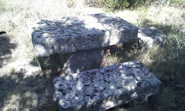 Photo: Taula de pedra, l'estiu del 2011.