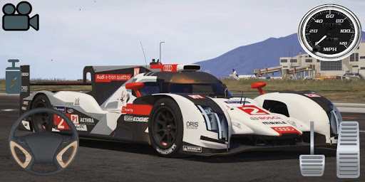Driving Audi E-Tron GT Car Simulator screenshots 2