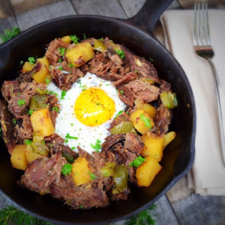 Sarahbeth's Hash and Eggs
