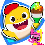 Pinkfong Baby Shark Coloring Book Icon