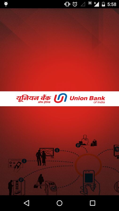 Union Bank UPI App- screenshot