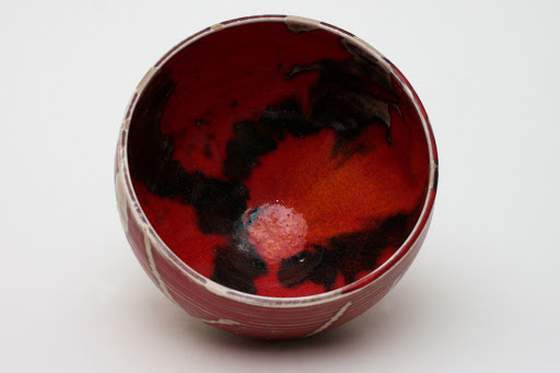 Bruce Chivers Ceramic Raku Tea Bowl 05